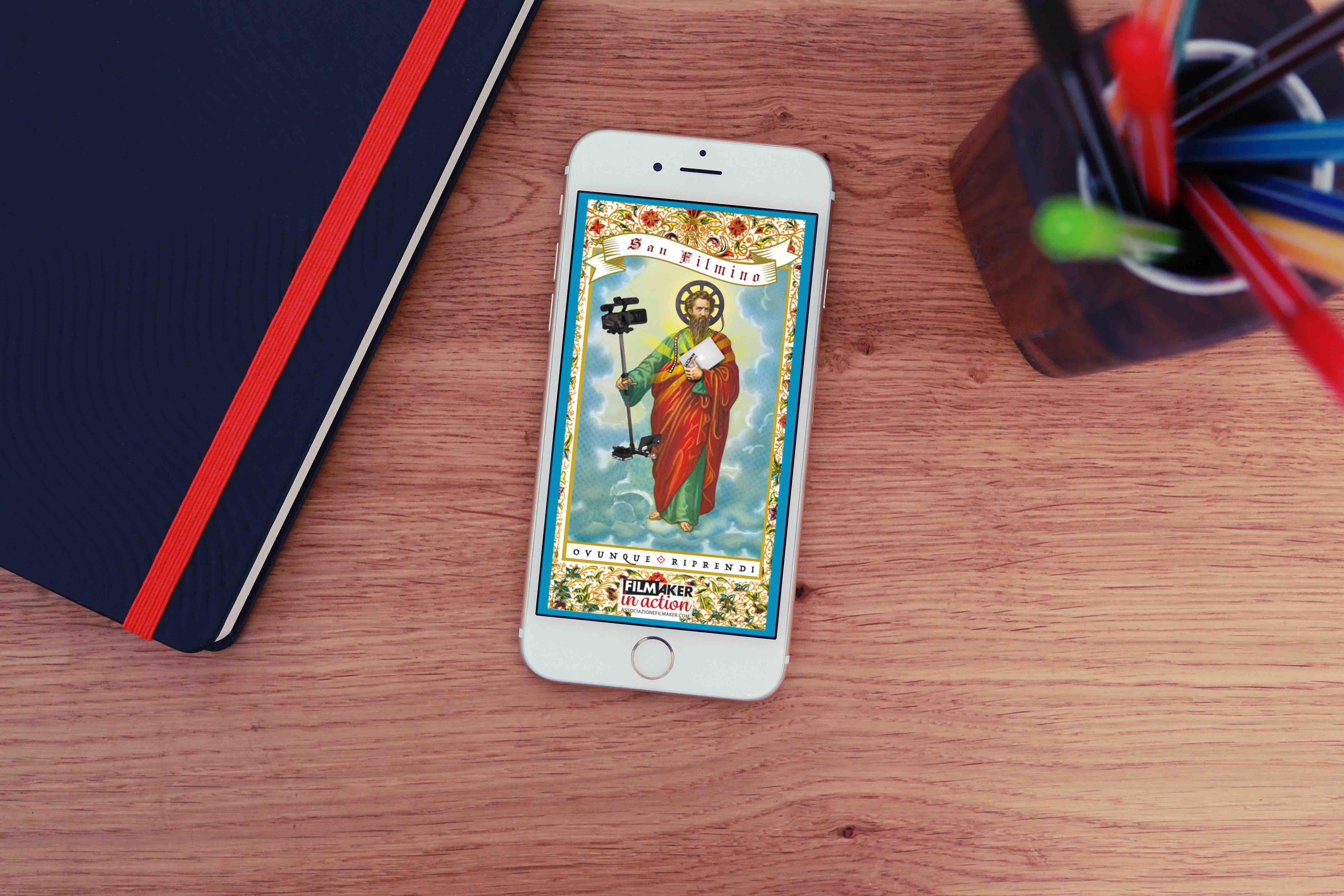 Porta ovunque il tuo santo protettore