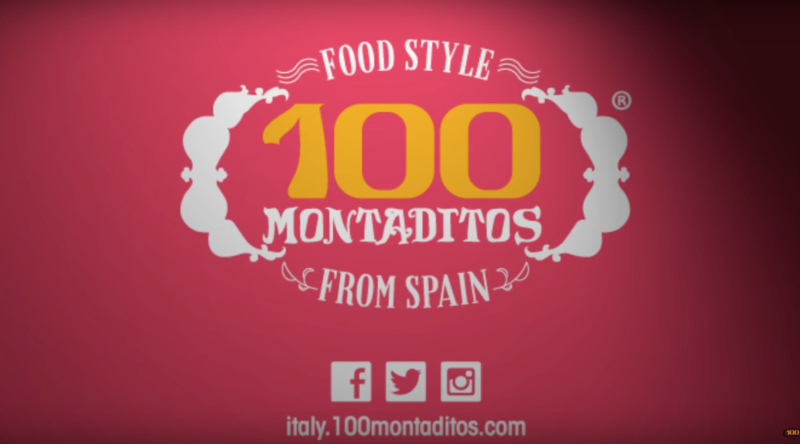 #100Montaditos, lo spot Blue Mondays